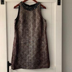 Maggy London short metallic dress